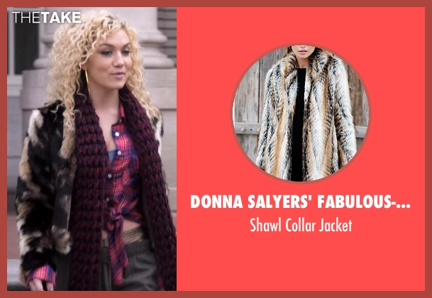 Donna Salyers' Fabulous-Furs black jacket from Star seen with Star (Jude Demorest)