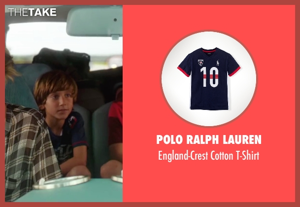 Polo Ralph Lauren blue t-shirt from Vacation seen with Steele Stebbins (Kevin Griswold)