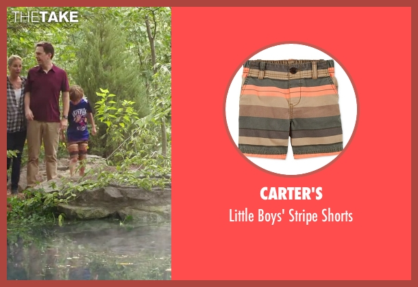 Carter's brown shorts from Vacation seen with Steele Stebbins (Kevin Griswold)