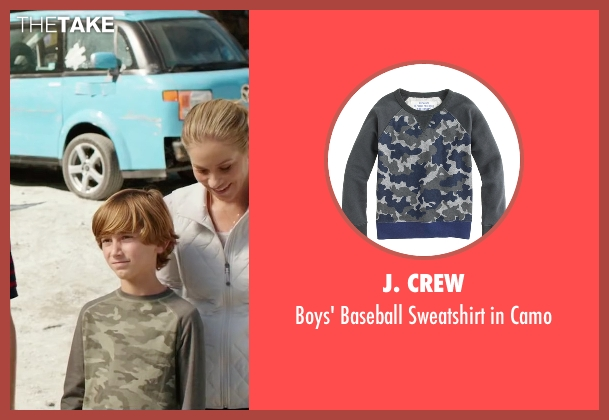 J. Crew camo from Vacation seen with Steele Stebbins (Kevin Griswold)