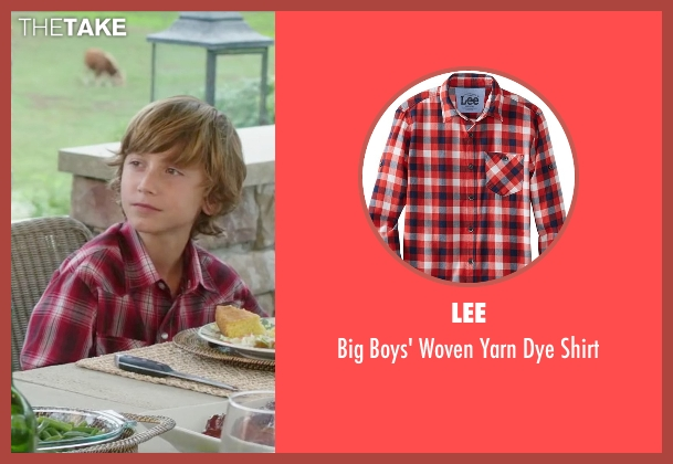 Lee red shirt from Vacation seen with Steele Stebbins (Kevin Griswold)