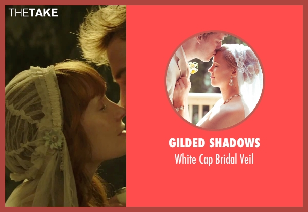 Gilded Shadows white veil from The Hunger Games: Mockingjay - Part 2 seen with Stef Dawson  (Annie Cresta)