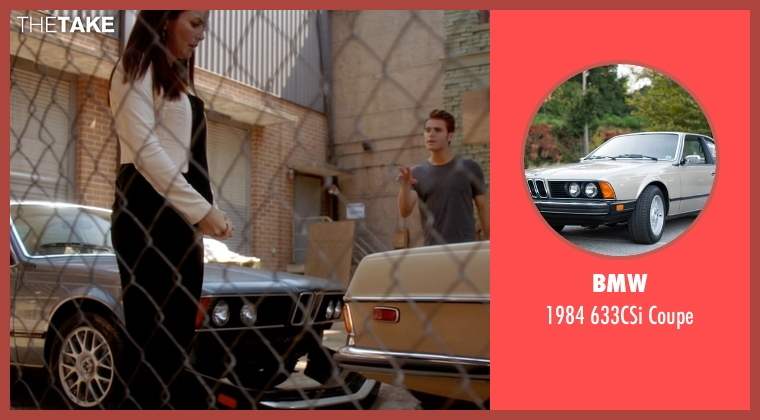 BMW coupe from The Vampire Diaries seen with Stefan Salvatore (Paul Wesley)