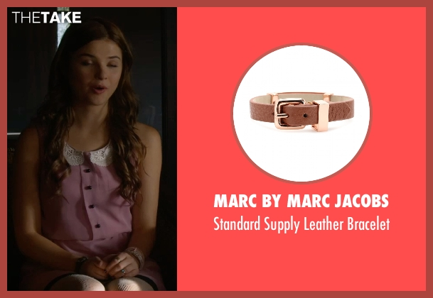 Marc By Marc Jacobs brown bracelet from Insidious: Chapter 3 seen with Stefanie Scott (Quinn Brenner)