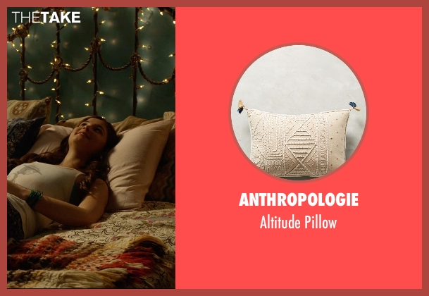 Anthropologie pillow from Insidious: Chapter 3 seen with Stefanie Scott (Quinn Brenner)