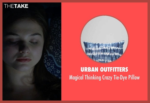 Urban Outfitters tie-dye pillow from Insidious: Chapter 3 seen with Stefanie Scott (Quinn Brenner)