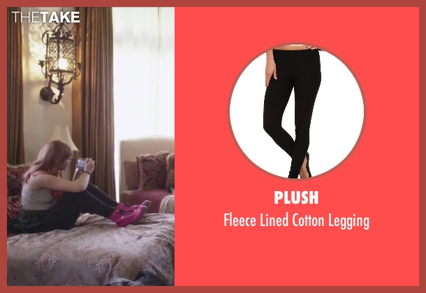 Plush black legging from Jem and the Holograms seen with Stefanie Scott (Kimber)