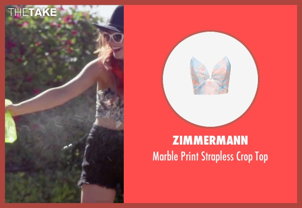 Zimmermann top from Jem and the Holograms seen with Stefanie Scott (Kimber)