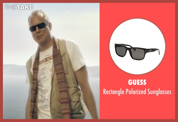 Guess black sunglasses from Mamma Mia! seen with Stellan Skarsgård (Bill)