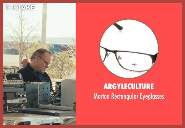 Argyleculture black eyeglasses from Thor seen with Stellan Skarsgård (Erik Selvig)