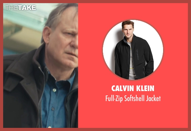 Calvin Klein black jacket from Thor seen with Stellan Skarsgård (Erik Selvig)