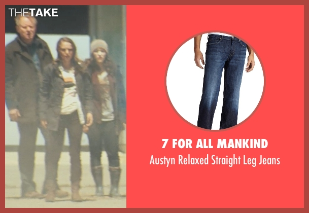 7 For All Mankind blue jeans from Thor seen with Stellan Skarsgård (Erik Selvig)