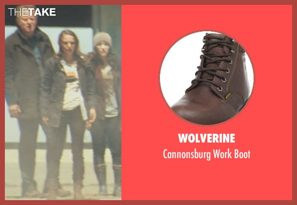 Wolverine brown boot from Thor seen with Stellan Skarsgård (Erik Selvig)