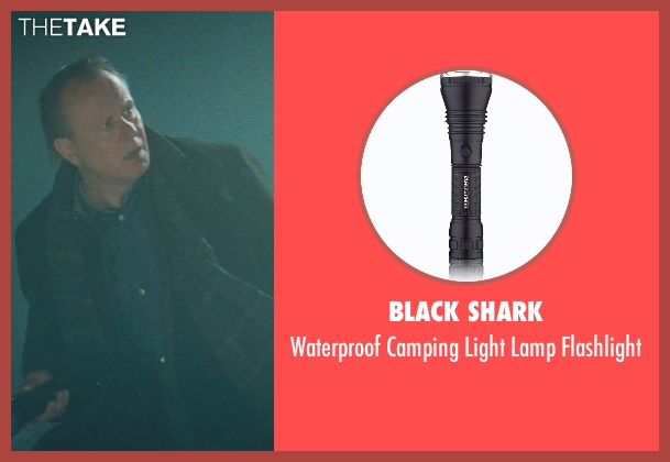 Black Shark flashlight from Thor seen with Stellan Skarsgård (Erik Selvig)