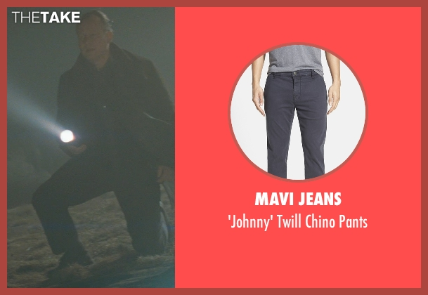 Mavi Jeans gray pants from Thor seen with Stellan Skarsgård (Erik Selvig)