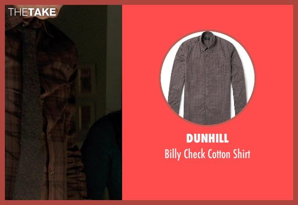 Dunhill brown shirt from Thor: The Dark World seen with Stellan Skarsgård (Erik Selvig)