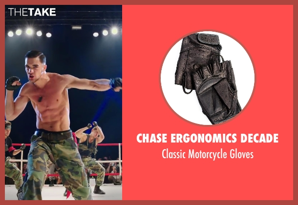 Chase Ergonomics Decade black gloves from Step Up: All In