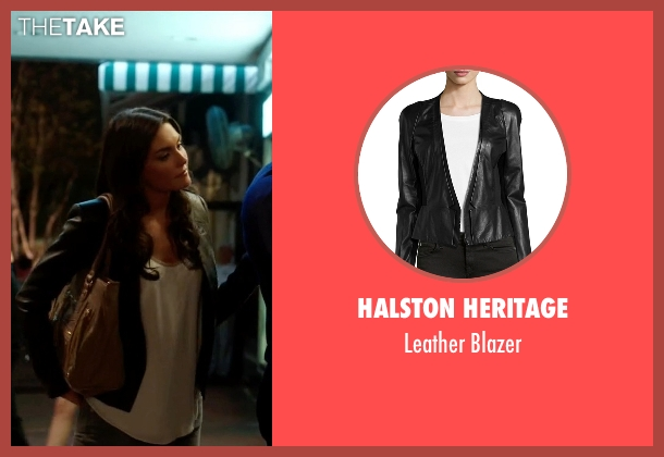 Halston Heritage black blazer from Ballers seen with Stephanie Michaels (Taylor Cole)