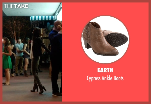 Earth brown boots from Ballers seen with Stephanie Michaels (Taylor Cole)