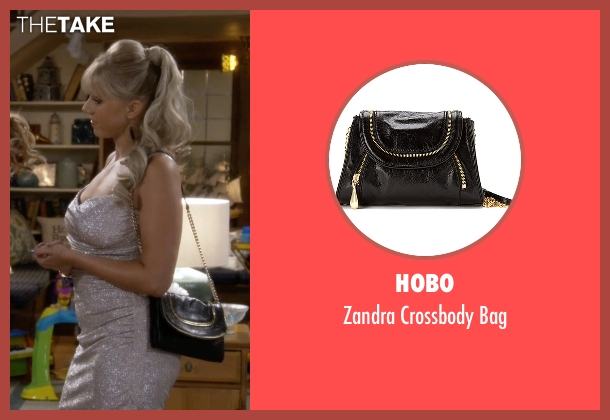 Hobo black bag from Fuller House seen with Stephanie Tanner (Jodie Sweetin)