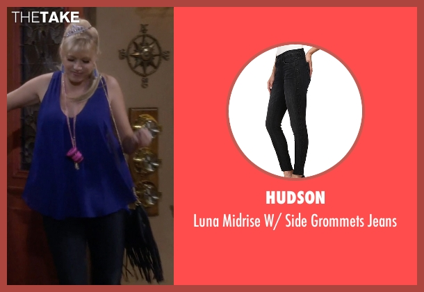 Hudson black jeans from Fuller House seen with Stephanie Tanner (Jodie Sweetin)