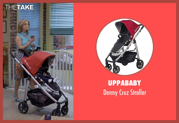 UPPAbaby red stroller from Fuller House seen with Stephanie Tanner (Jodie Sweetin)
