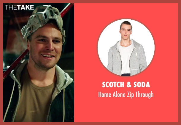 Scotch & Soda gray through from Teenage Mutant Ninja Turtles: Out of the Shadows seen with Stephen Amell (Casey Jones)