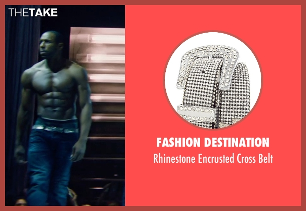 Fashion Destination black belt from Magic Mike XXL seen with Stephen Boss (Unknown Character)