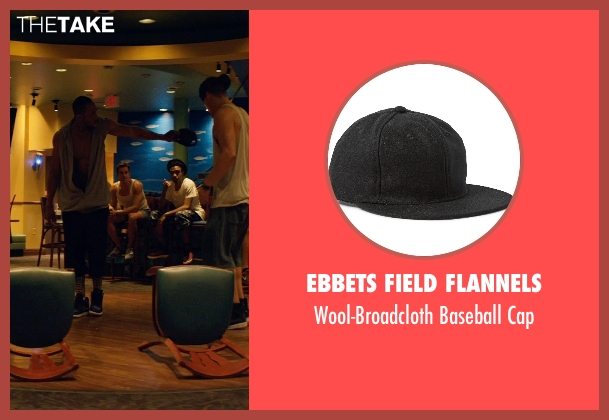 Ebbets Field Flannels black cap from Magic Mike XXL seen with Stephen Boss (Unknown Character)