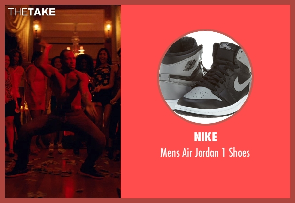 Nike black shoes from Magic Mike XXL seen with Stephen Boss (Unknown Character)