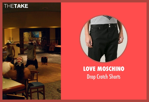 Love Moschino black shorts from Magic Mike XXL seen with Stephen Boss (Unknown Character)