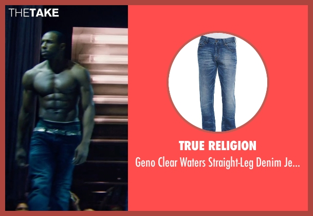 True Religion blue jeans from Magic Mike XXL seen with Stephen Boss (Unknown Character)