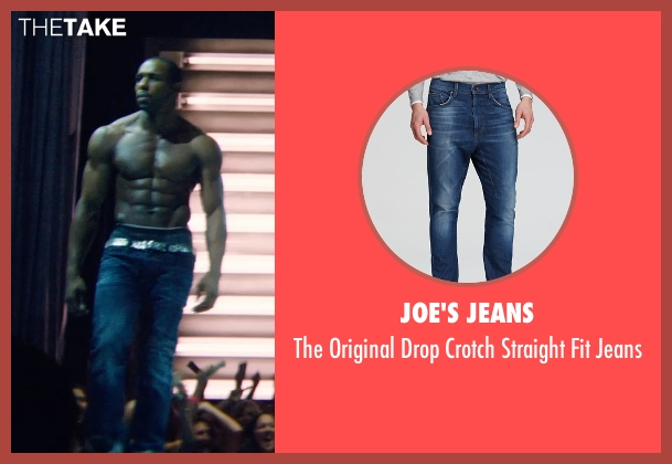 Joe's Jeans blue jeans from Magic Mike XXL seen with Stephen Boss (Unknown Character)