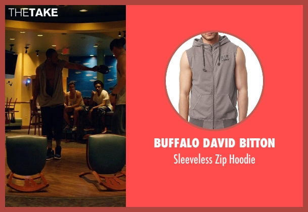 Buffalo David Bitton gray hoodie from Magic Mike XXL seen with Stephen Boss (Unknown Character)
