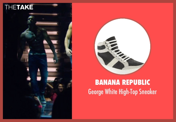 Banana Republic gray sneaker from Magic Mike XXL seen with Stephen Boss (Unknown Character)