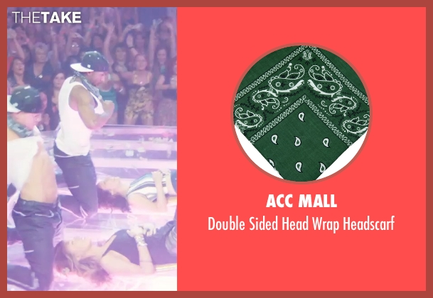 ACC Mall green headscarf from Magic Mike XXL seen with Stephen Boss (Unknown Character)