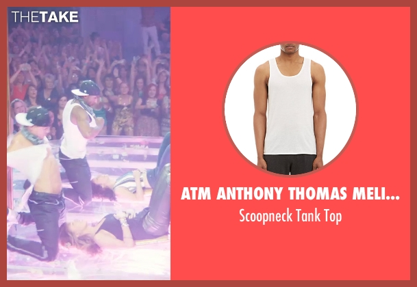 ATM Anthony Thomas Melillo white top from Magic Mike XXL seen with Stephen Boss (Unknown Character)