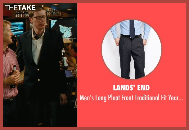 Lands' End black pants from Hall Pass seen with Stephen Merchant (Gary)