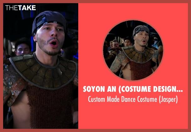 Soyon An (Costume Designer) costume from Step Up: All In seen with Stephen Stevo Jones (Jasper Tarik)