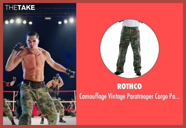 Rothco pants from Step Up: All In seen with Stephen Stevo Jones (Jasper Tarik)