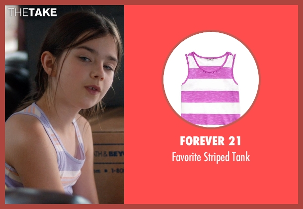 Forever 21 purple tank from And So It Goes seen with Sterling Jerins (Sarah)