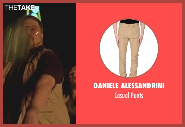 Daniele Alessandrini beige pants from The Big Lebowski seen with Steve Buscemi (Theodore Donald 'Donny' Kerabatsos)