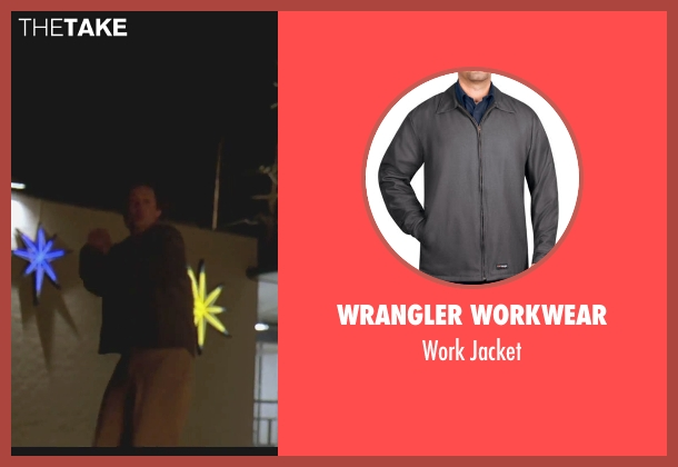 Wrangler Workwear gray jacket from The Big Lebowski seen with Steve Buscemi (Theodore Donald 'Donny' Kerabatsos)