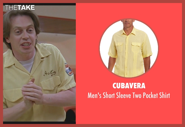 Cubavera yellow shirt from The Big Lebowski seen with Steve Buscemi (Theodore Donald 'Donny' Kerabatsos)