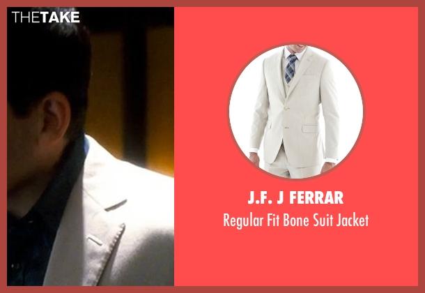 J.F. J Ferrar beige jacket from Crazy, Stupid, Love. seen with Steve Carell (Cal Weaver)