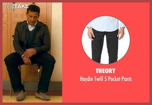 Theory black pants from Crazy, Stupid, Love. seen with Steve Carell (Cal Weaver)