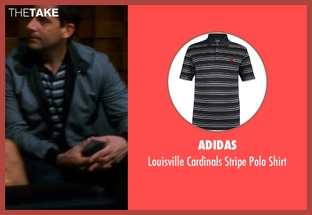 Adidas black shirt from Crazy, Stupid, Love. seen with Steve Carell (Cal Weaver)