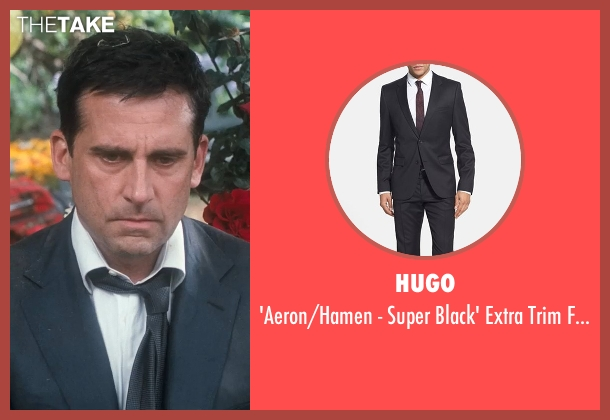 Hugo black suit from Crazy, Stupid, Love. seen with Steve Carell (Cal Weaver)