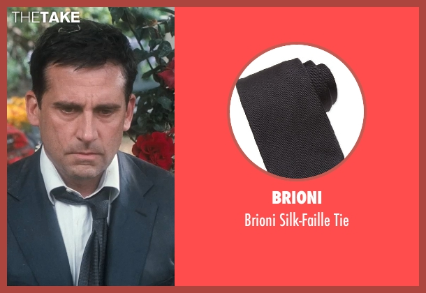 Brioni black tie from Crazy, Stupid, Love. seen with Steve Carell (Cal Weaver)