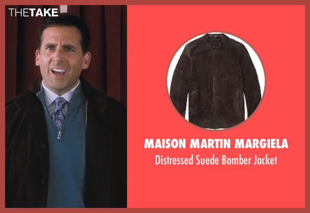 Maison Martin Margiela brown jacket from Crazy, Stupid, Love. seen with Steve Carell (Cal Weaver)